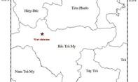 Quảng Nam: Động đất 3,2 độ richter ở khu vực Bắc Trà My