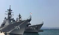 Hai tàu Lực lượng tự vệ biển Nhật Bản thăm Cam Ranh