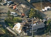 Hình ảnh vụ động đất kinh hoàng tại Kumamoto