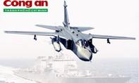 Infographic: Uy lực của máy bay chiến đấu Su-24 và tàu khu trục Donald Cook