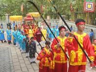 Linh thiêng ngày lễ giỗ tổ Hùng Vương