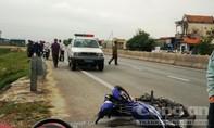Đâm vào cột mốc trên Quốc lộ 1A, một người tử vong tại chỗ