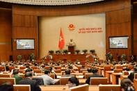 Miễn nhiệm một Phó chủ tịch và 7 ủy viên thường vụ Quốc hội