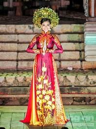 Ngắm Áo dài Việt Nam - Saree Ấn Độ tại TP.HCM