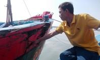 Một tàu cá của ngư dân Quảng Nam bị tàu lạ tấn công ở vùng biển Hoàng Sa