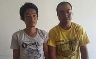 Hai người Trung Quốc sắm súng giả, dao bấm cướp ô tô ở Sài Gòn
