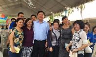 Bí thư Đinh La Thăng tới dự khai mạc tháng công nhân
