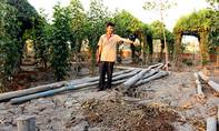 Chủ đất quán cà phê Xin Chào bị khởi tố vì dựng chòi nuôi vịt