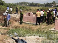 Phát hiện thi thể một người đàn ông trong nghĩa địa