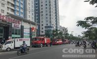 Cháy tại tầng 6 chung cư Chu Văn An, hàng chục hộ dân hốt hoảng