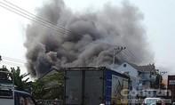 Cháy lớn ở siêu thị điện máy, thiệt hại trên 10 tỷ đồng