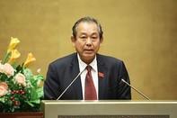 Ông Trương Hòa Bình trở thành Phó Thủ tướng Chính phủ