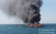 Nổ khí gas trên tàu, hai ngư dân tử vong