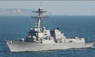 Mỹ điều tàu chiến đi vào khu vực 12 hải lý của đá Chữ Thập
