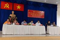 Tổ ứng cử Đại biểu Quốc hội tiếp xúc cử tri quận Gò Vấp