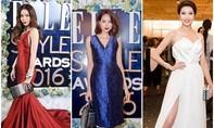 """Hà Hồ """"lấn lướt"""" đàn em Phạm Hương, Thúy Vân tại Elle Style Awards 2016"""