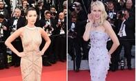 """Những bộ cánh khoe """"vòng một"""" gợi cảm của sao trên thảm đỏ Cannes"""