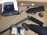 Phát hiện súng, đạn trong lô hàng quà biếu tại sân bay