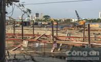 Hàng chục hộ dân gần công trình Vinacomin lo sợ sập nhà