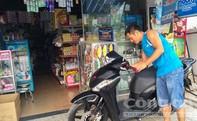 Nam thanh niên giả mua kẹo bẻ khóa xe SH, bất thành