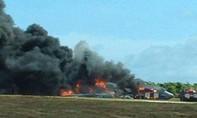 Máy bay ném bom B-52 rơi ở đảo Guam