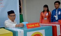 Đồng bào người Chăm nô nức đi bầu trong ngày hội non sông
