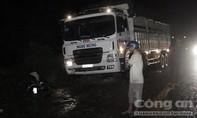 Xe tải tông trực diện xe máy, một người tử vong
