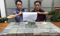 Bắt hai đối tượng buôn 50 bánh heroin xuyên quốc gia