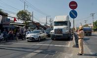 CSGT ra quân giải quyết nạn kẹt xe ở cửa ngõ TP.HCM sau lễ