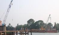 Tai nạn lao động ở công trường lắp ráp cầu Ghềnh, một công nhân tử vong