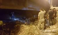 Xác nam thanh niên bốc cháy dưới chân cầu Nguyễn Hữu Cảnh
