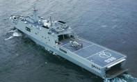 Trung Quốc ngang nhiên điều tàu chiến ra đá Chữ Thập