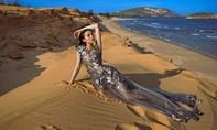 Kỳ Duyên khoe đường cong gợi cảm trên bãi biển