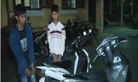 Bắt hai tên trộm xe máy chuyên nghiệp