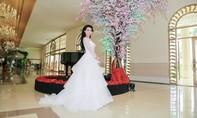 Người đẹp Phan Thị Mơ diện áo cưới trước tin đồn lấy chồng đại gia