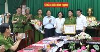 UBND TP.HCM khen thưởng công an Q. Bình Thạnh phá nhanh vụ cướp xe máy giữa ban ngày