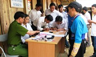Thanh Hóa: Công an huyện về bản làm chứng minh thư cho người dân