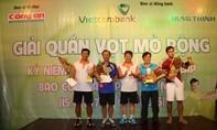 Sôi động giải tennis kỷ niệm 40 năm thành lập Báo Công an TP.HCM