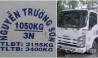 Truy tìm chủ nhân chiếc xe tải ISUZU bí ẩn