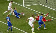 Iceland - Hungary (1-1): Chia điểm trong tiếc nuối
