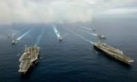 Mỹ điều 2 tàu sân bay đến gần Biển Đông trước khi tòa PCA ra phán quyết
