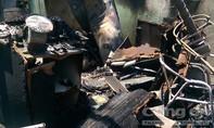 Cháy quán cà phê nghi bị đốt, thiệt hại hơn 300 triệu đồng
