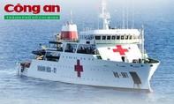Trang bị hiện đại của tàu bệnh viện HQ 561 đang tham gia tìm kiếm Casa 212