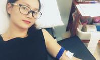Diễn viên Lan Phương chia sẻ sự cố ngất xỉu sau khi hiến máu cứu người