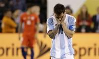 Messi từ giã đội tuyển quốc gia sau khi tuột mất chức vô địch Copa America