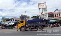 Xe tải va chạm xe máy, một người tử vong