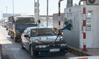 Trạm thu phí gây ùn tắc giao thông bị phạt 70 triệu đồng