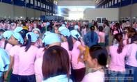 Hơn 1.000 công nhân công ty dệt may Tam Thăng trở lại làm việc