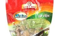 """Phát hiện """"bò viên"""" của Việt Sin làm từ thịt trâu và cá"""