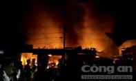 Cháy dữ dội tại chợ trung tâm huyện Kbang, thiệt hại hàng chục tỷ đồng